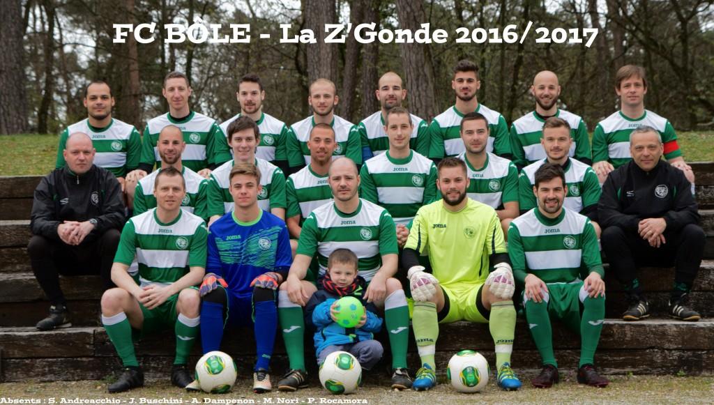 Z'gonde, saison 2016-2017